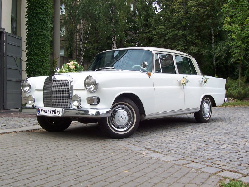 Mercedes W108 280SE - auto do ślubu